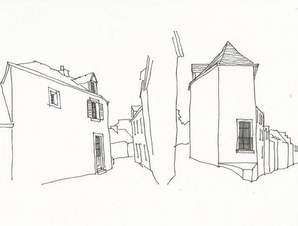 Transformation d'une maison de ville à Camaret-sur-Mer